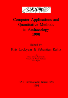 Cover image for Computer Applications and Quantitative Methods in Archaeology 1990