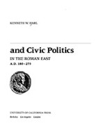 Cover image for Civic coins and civic politics in the Roman East, A.D. 180-275
