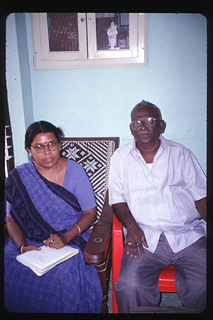 A Chettinadu couple laments the loss of their community's material heritage.