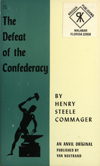 Cover image for The defeat of the Confederacy: a documentary survey