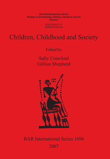 Cover image for Children, Childhood and Society