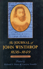 Cover image for The journal of John Winthrop, 1630-1649