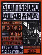 Cover image for Scottsboro, Alabama: a story in linoleum cuts