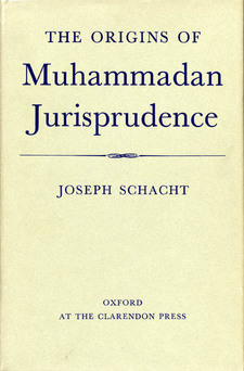 Cover image for The origins of Muhammadan jurisprudence