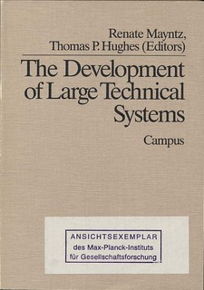 Cover for The Development of large technical systems