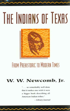 Cover image for The Indians of Texas: from prehistoric to modern times
