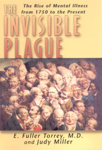 Cover image for The invisible plague: the rise of mental illness from 1750 to the present