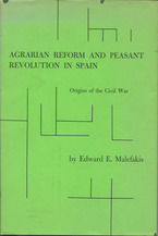 Cover image for Agrarian reform and peasant revolution in Spain: origins of the Civil War