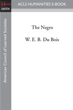 Cover image for The Negro