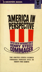 Cover image for America in perspective: the United States through foreign eyes