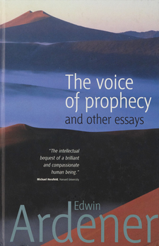 Cover image for The voice of prophecy and other essays