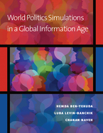 Cover image for World Politics Simulations in a Global Information Age