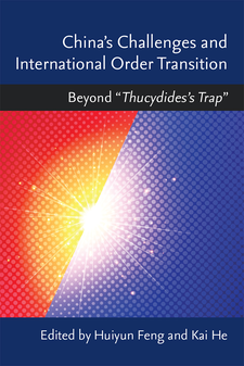"Cover image for China's Challenges and International Order Transition: Beyond ""Thucydides's Trap"""