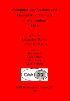 Cover image for Computer Applications and Quantitative Methods in Archaeology 1989