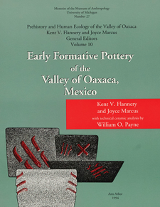 Cover image for Early Formative Pottery of the Valley of Oaxaca