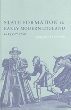Cover image for State formation in early modern England, c. 1550-1700