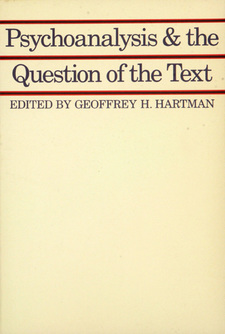 Cover image for Psychoanalysis and the question of the text