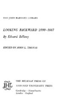Cover image for Looking backward, 2000-1887