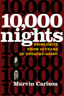 Cover image for Ten Thousand Nights: Highlights from 50 Years of Theatre-Going