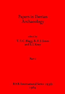 Cover image for Papers in Iberian Archaeology, Parts i and ii