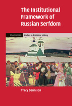 Cover image for The institutional framework of Russian serfdom