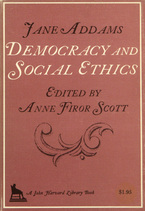 Cover image for Democracy and social ethics