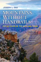 Cover image for Mountains Without Handrails: Reflections on the National Parks