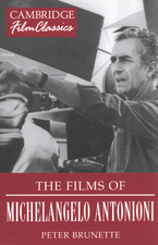 Cover image for The films of Michelangelo Antonioni
