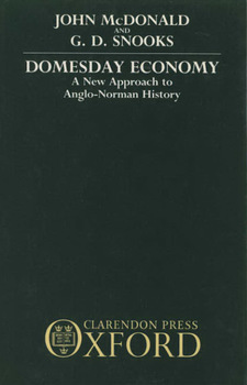 Cover image for Domesday economy: a new approach to Anglo-Norman history