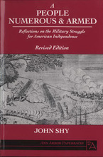 Cover image for A people numerous and armed: reflections on the military struggle for American independence