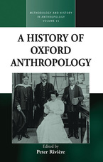 Cover image for A history of Oxford anthropology