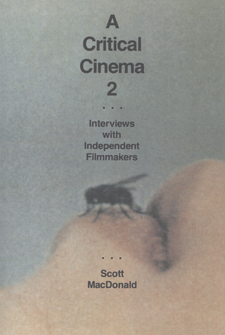 Cover image for A critical cinema: interviews with independent filmmakers, Vol. 2