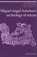 Cover image for Miguel Angel Asturias's archaeology of return