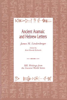 Cover image for Ancient Aramaic and Hebrew letters