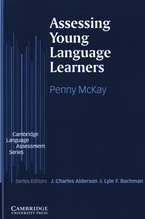 Cover image for Assessing young language learners