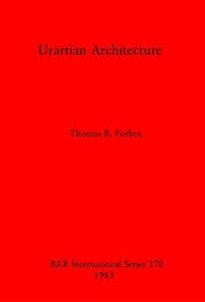 Cover image for Urartian Architecture