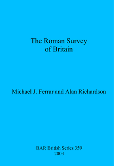 Cover image for The Roman Survey of Britain