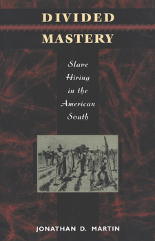 Cover image for Divided mastery: slave hiring in the American South