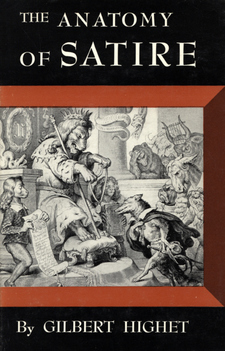 Cover image for The anatomy of satire