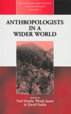 Cover image for Anthropologists in a wider world: essays on field research