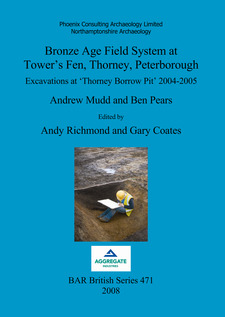 Cover image for Bronze Age Field System at Tower's Fen, Thorney, Peterborough: Excavations at 'Thorney Borrow Pit' 2004-2005