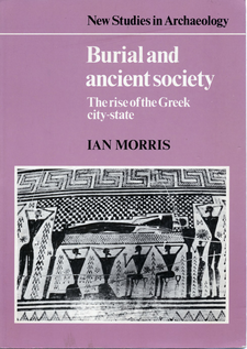 Cover image for Burial and ancient society: the rise of the Greek city-state