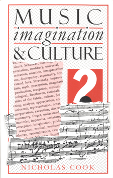 Cover image for Music, imagination and culture
