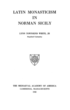 Cover image for Latin monasticism in Norman Sicily