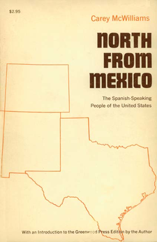 Cover image for North from Mexico: the Spanish-speaking people of the United States