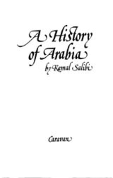 Cover image for A history of Arabia