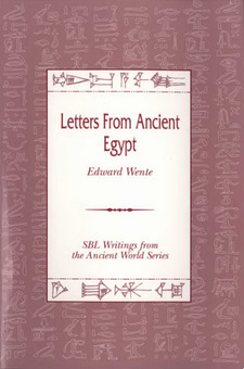Cover image for Letters from ancient Egypt