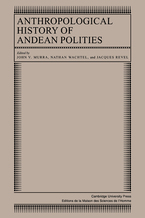 Cover image for Anthropological history of Andean polities