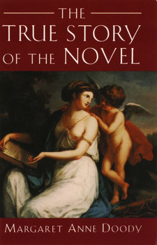Cover image for The true story of the novel