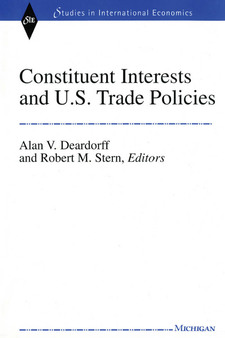 Cover image for Constituent Interests and U.S. Trade Policies